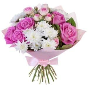 хризантемы розы кустовые розы