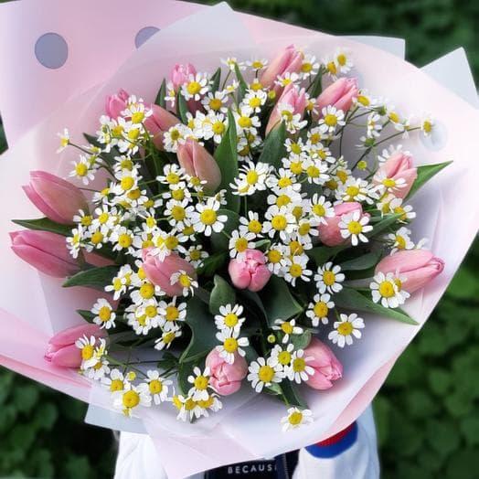 Букет с самыми красивыми цветами
