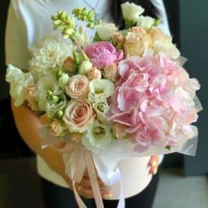 гортензия эустома кустовые розы