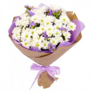 хризантемы ирисы