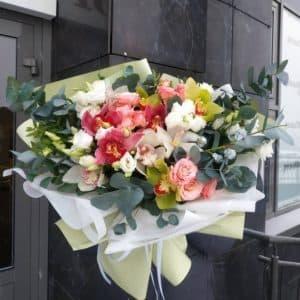 Авторский букет роз