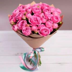 кустовые розы мисти баблс