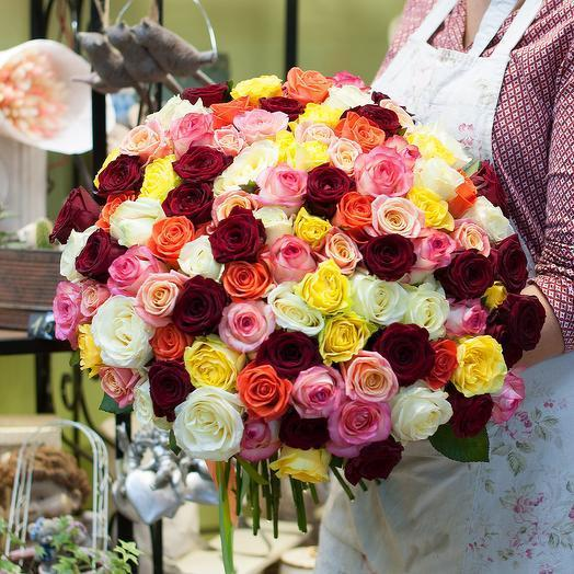 Букет роз (101 роза)