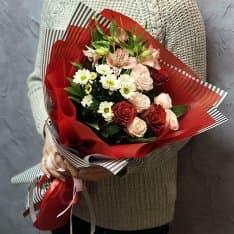 альстромерия хризантема