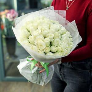 Букет кенийских роз 40 см