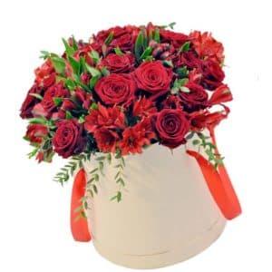 розы эквадор коробка