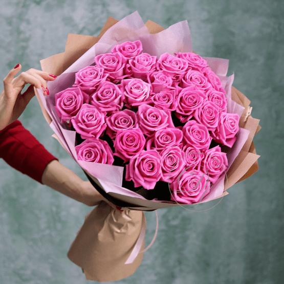Роза аква розовый
