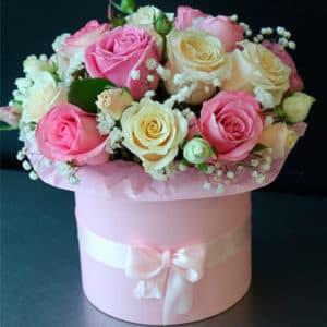 розы гипсофила