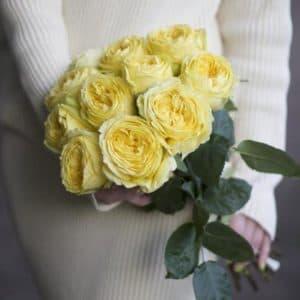 11 Желтых Роз Эквадор (60 см.)
