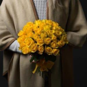 35 Желтых Роз (40 см.)