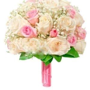 Букет невесты из розовых роз Нежность