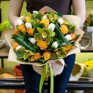 """Букет цветов """"Индиана Джонс"""""""