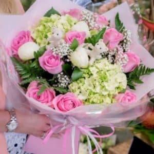роза гортензии