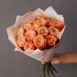 21 пионовидная роза Анджи Романтика