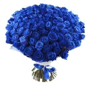 71 синяя роза