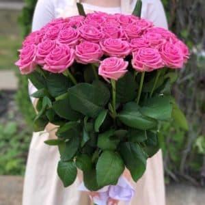 Букет 51 розовая роза