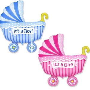 Шар коляска детская