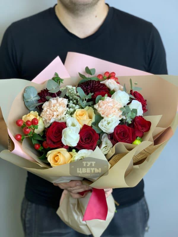 """Цветы """"Нотки весны"""" с доставкой"""