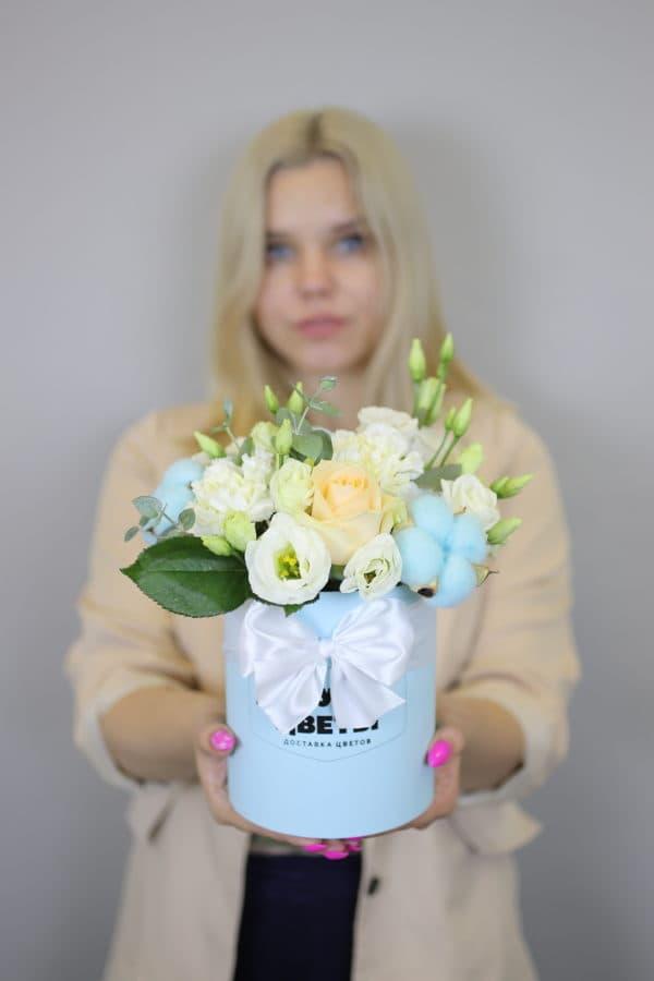 """Доставка цветов """"Нежный комплимент"""""""