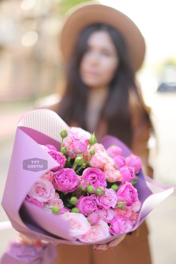 """Заказать цветы """"Розовое счастье"""""""