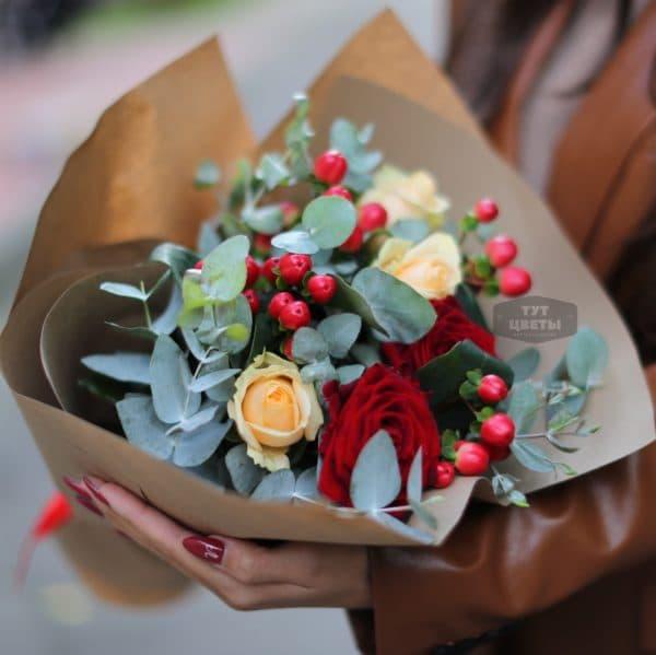 """Доставка цветов """" Любезный букет """""""