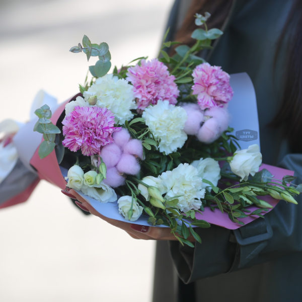 """Цветы с доставкой  """"Сверток любви"""""""