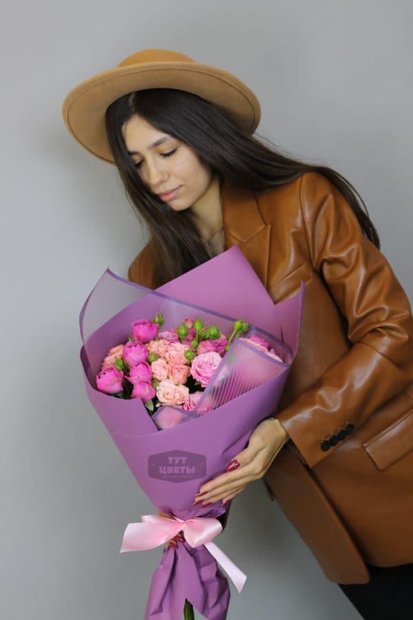 """Заказать цветы """"Розове счастье"""""""
