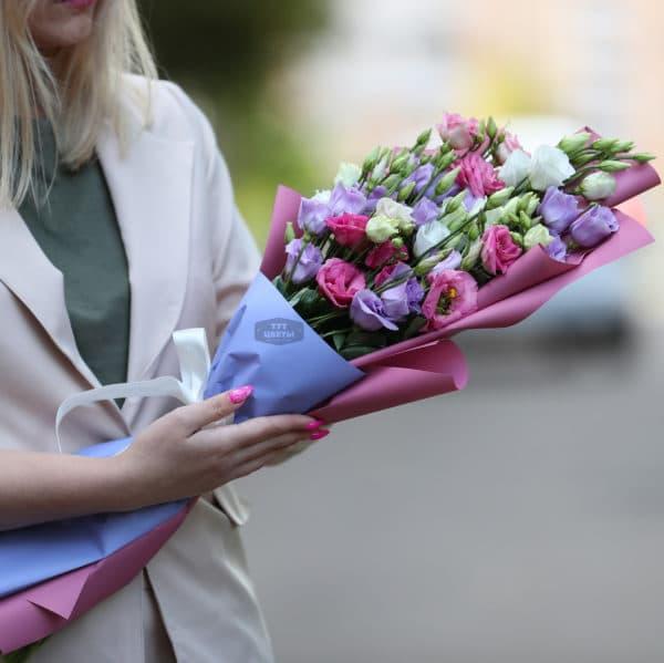 """Доставка цветов """"Микс из Эустом"""""""