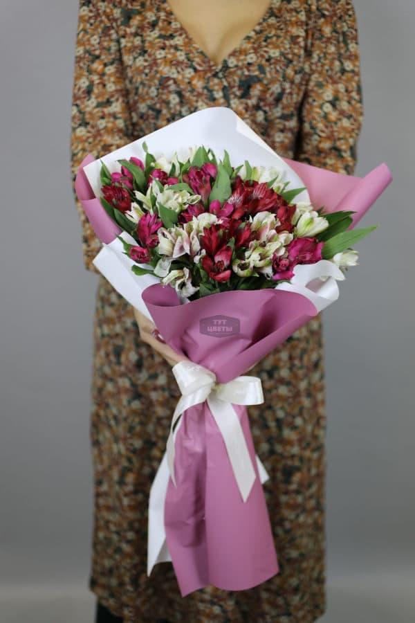"""Цветы """" Яркие Альстромерии"""""""