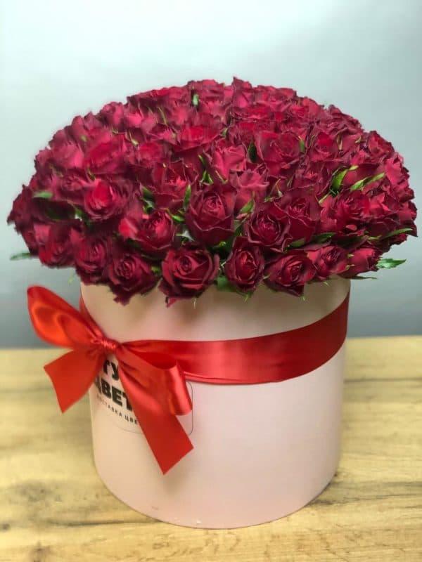Роза Кения в коробке
