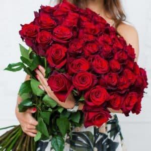 51 высокая роза