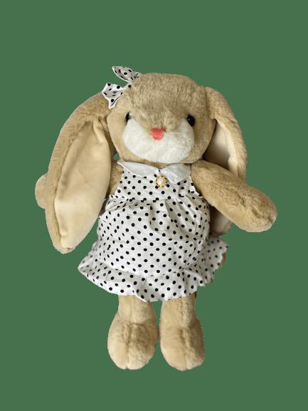 Мягкая игрушка Зайчиха в платье (30см)