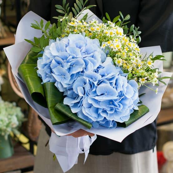 Букет цветов Ромашковые небеса