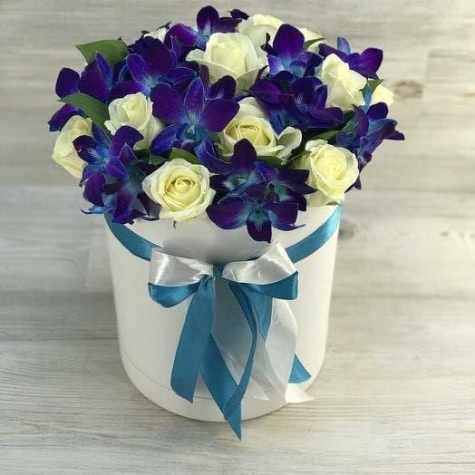 Коробочки из орхидей и роз