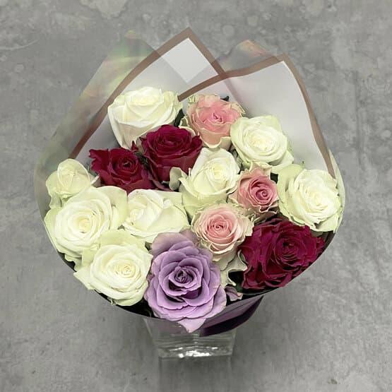 Монобукет из кенийских роз