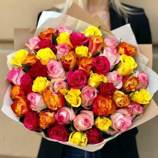 Роза Кения 51 шт.