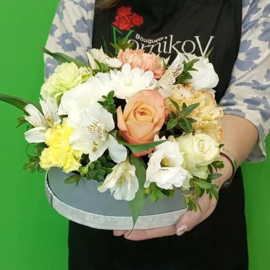 Цветы в коробке Тайная любовь