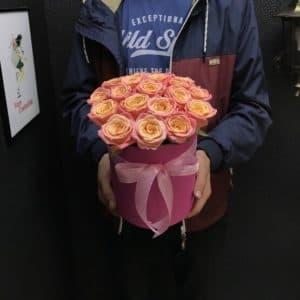 Коробочка с розами Мисс Пигги