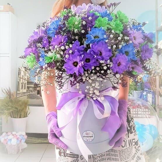 Большая фиолетовая композиция