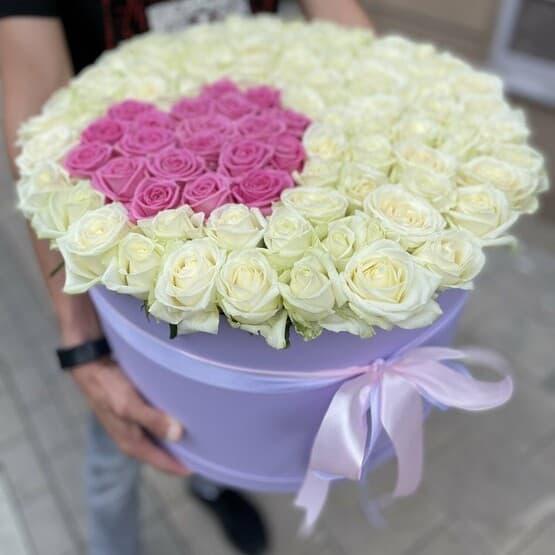 """Коробка """"Сердце в розах"""""""